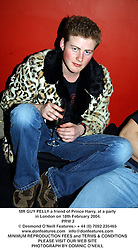 MR GUY PELLY a friend of Prince Harry, at a party in London on 18th February 2004.<br /> PRW 2
