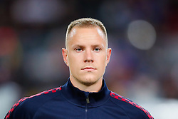 November 5, 2019, Barcelona, Catalonia, Spain: November 5, 2019 - Barcelona, Spain - Uefa Champions League Stage Group, FC Barcelona v Slavia Praga: Marc Andre Ter Stegen of FC Barcelona before start the game. (Credit Image: © Eric Alonso/ZUMA Wire)