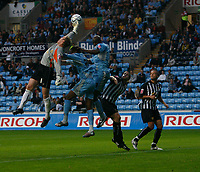 Photo: Steve Bond.<br />Coventry City v Notts County. The Carling Cup. 14/08/2007. Kevin Pilkington saves under pressure