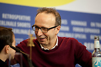 Actors Federico Lelapi and  Roberto Benigni at the photocall for the film Pinocchio at the 70th Berlinale International Film Festival, on Sunday 23rd February 2020, Hotel Grand Hyatt, Berlin, Germany. Photo credit: Doreen Kennedy
