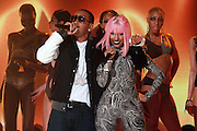 27 February 2010- New York, NY- l to r: Ludacris and Nicki Minaj at the BET 2010 RIP The RUNWAY held at the Hammerstein Ballroom on February 27, 2010 in New York City. Photo Credit: Terrence Jennings/Sipa