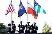 2010 New York Police Memorial held at NYPD Memorial in Battery Park City