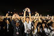 2014 Global Citizen Festival at Central Park in New York City on 27 September 2014.