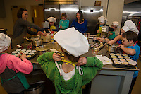 Children's Cooking Class at Gilford Youth Center.  Karen Bobotas for the Laconia Daily Sun