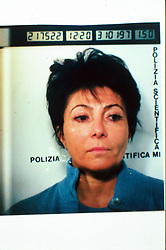 Italy, Milan - May 01, 1994.Patrizia Reggiani arrested..Patrizia Reggiani arranged the murder of her ex-husband Maurizio Gucci in 1995, and she was sentenced to 26 years in prison in 1998. (Credit Image: © Ponti/Fotogramma/Ropi/ZUMAPRESS.com)
