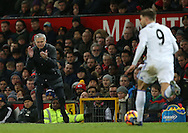 Manchester United's Jose Mourinho in action during the Premier League match at Old Trafford Stadium, London. Picture date December 26th, 2016 Pic David Klein/Sportimage