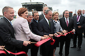 Mayor Michael Bloomberg and Speaker Christine Quinn open new Ferry Service for NYC