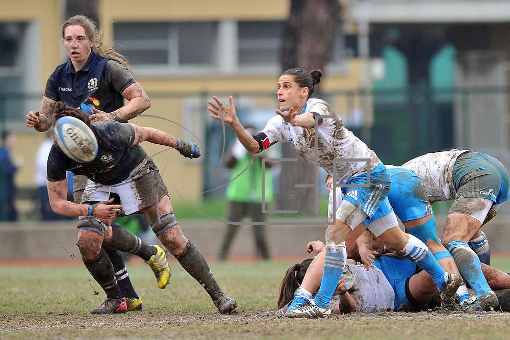 Bologna 29/02/2016<br /> RBS 6 nations femminile : Italia vs Scozia
