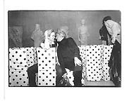 blaine trump and pat Buckleu© Copyright Photograph by Dafydd Jones 66 Stockwell Park Rd. London SW9 0DA Tel 020 7733 0108 www.dafjones.com