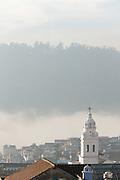 Bell Tower Of The Santo Domingo Monastery & Church, Quito, Pichincha, Ecuador, South America
