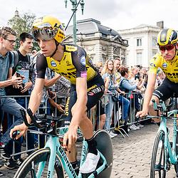 06-07-2019: Wielrennen: Tour de France: Brussel<br />Ploegentijdrit Jumbo-Visma sterk in de ploegentijdrit