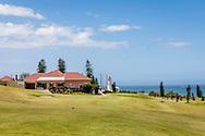 06-11-2017 Foto's genomen tijdens een persreis naar Buffalo City, een gemeente binnen de Zuid-Afrikaanse provincie Oost-Kaap. West Bank Golf Club - Clubhuis