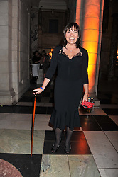 LORAINNE KELLY at the 50th birthday party for Jonathan Shalit held at the V&A Museum, London on 17th April 2012.