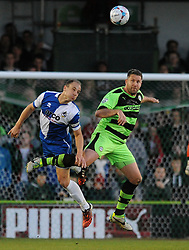 - Photo mandatory by-line: Dougie Allward/JMP - Mobile: 07966 386802 - 29/04/2015 - SPORT - Football - Nailsworth - The New Lawn - Forest Green Rovers v Bristol Rovers - Vanarama Football Conference