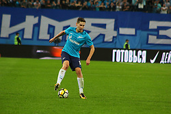August 24, 2017 - Saint-Petersburg, Russia - Of The Russian Federation. Saint-Petersburg. Zenit-Arena. Arena Saint-Petersburg. The UEFA Europa League. The second leg of the round of the playoffs Zenit - Utrecht. Zenit won with the score 2:0. Player Daler Kuzyaev. (Credit Image: © Russian Look via ZUMA Wire)