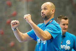Zeljko Babic, head coach of RK Gorenje Velenje during handball match between RK Gorenje Velenje and Kadetten Schaffhausen in VELUX EHF Champions League, on November 25, 2017 in Rdeca Dvorana, Velenje, Slovenia. Photo by Ziga Zupan / Sportida