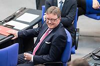 21 MAR 2019, BERLIN/GERMANY:<br /> Michael Grosse-Broemer, MdB, CDU, 1. Parl. Geschaeftsfuehrer CDU/CSU BT-Fraktion, BUndestagsdebatte zur Regierungserklaerung der Bundeskanzlerin zum Europaeischen Rat, Plenum, Deutscher Bundestag<br /> IMAGE: 20190321-01-123<br /> KEYWORRDS: Michael Grosse-Brömer