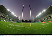 24 June 2013; A view of AAMI Park before the British & Irish Lions captain's run ahead of their match against Melbourne Rebels on Tuesday. British & Irish Lions Tour 2013, Captain's Run, AAMI Park, Olympic Boulevard, Melbourne, Australia. Picture credit: Stephen McCarthy / SPORTSFILE