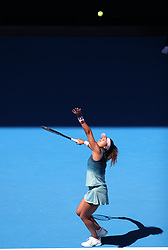 MELBOUREN, Jan. 19, 2019  Osaka Naomi of Japan competes.    during the women's singles 3rd round match between Osaka Naomi of Japan and Hsieh Su-Wei of Chinese Taipei at the Australian Open in Melbourne, Australia, Jan. 19, 2019. (Credit Image: © Bai Xuefei/Xinhua via ZUMA Wire)