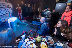 Dmitry Khitrov's Honky Tonk bar-restaurant Moscow, Russia. Saturday April 22, 2017. Photography ©2017 Michael Lichter.