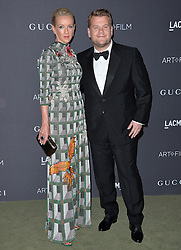 James Corden and Julia Carey attend the 2016 LACMA Art + Film Gala honoring Robert Irwin and Kathryn Bigelow presented by Gucci at LACMA on October 29, 2016 in Los Angeles, California. Photo by Lionel Hahn/AbacaUsa.com