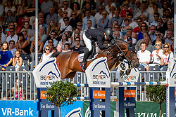 BRINKMANN Markus (GER), PIKEUR DYLON<br /> Münster - Turnier der Sieger 2019<br /> Grosser Preis von Münster - Siegerrunde<br /> BEMER Riders Tour Etappenwertung<br /> CSI4* - Int. Jumping competition over 2 rounds (1.60 m)<br /> 04. August 2019<br /> © www.sportfotos-lafrentz.de/Stefan Lafrentz