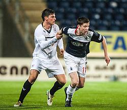 Falkirk 3 v 1 Raith Rovers, Scottish Championship game at The Falkirk Stadium.