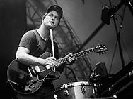 Jonas Pfetzing of German indie-pop band Juli at Stadtfest Ludwigshafen