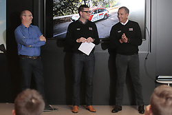 December 15, 2017 - Manacor, Espagne - MANACOR, SPAIN - DECEMBER 15 : DE GEYTER Paul (BEL) CEO of Team Lotto - Soudal, HOUTEKIER Arne (BEL) press officer of Team Lotto - Soudal and SERGEANT Marc (BEL) General Manager of Team Lotto - Soudal pictured during the training camp of the Lotto Soudal cycling team on December 15, 2017 in Manacor, Spain, 15/12/17 (Credit Image: © Panoramic via ZUMA Press)