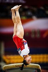 November 2, 2018 - Doha, Qatar - Seojeong Yeo of South Korea   during  Vault for Women at the Aspire Dome in Doha, Qatar, Artistic FIG Gymnastics World Championships on 2 of November 2018. (Credit Image: © Ulrik Pedersen/NurPhoto via ZUMA Press)