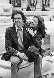 CARRIE FRANCES FISHER (October 21, 1956 - December 27, 2016) the actress best known as Star Wars' Princess Leia Organa, has died after suffering a heart attack. She was 60. Pictured: March 24, 1979 - New York, New York, U.S. - Carrie Fisher and Harrison Ford Streets of NYC (Credit Image: © Lynn Goldsmith via ZUMA Press)