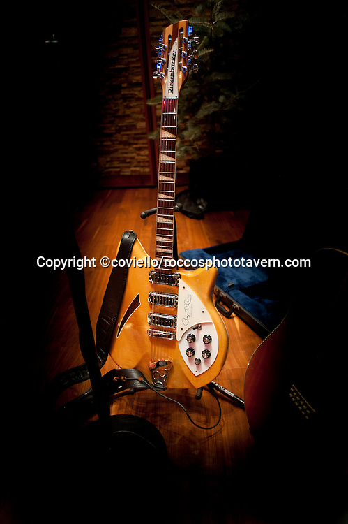 Famous Rickenbacker 12 String Guitar that belongs to Roger McGuinn of The Byrds.