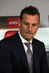 18.02.2016, WWKArena, Augsburg, GER, UEFA EL, FC Augsburg vs FC Liverpool, Sechzehntelfinale, Hinspiel, im Bild Trainer Markus Weinzierl ( FC Augsburg ) // during the UEFA Europa League Round of 32, 1st Leg match between FC Augsburg and FC Liverpool at the WWKArena in Augsburg, Germany on 2016/02/18. EXPA Pictures © 2016, PhotoCredit: EXPA/ Eibner-Pressefoto/ Langer<br /> <br /> *****ATTENTION - OUT of GER*****