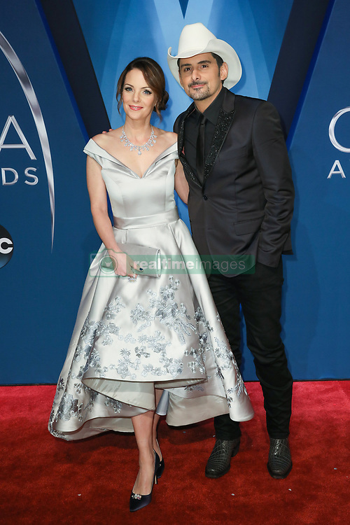 Thomas Rhett at the 51st Annual Country Music Association Awards hosted by Carrie Underwood and Brad Paisley and held at the Bridgestone Arena on November 8, 2017 in Nashville, TN. © Curtis Hilbun / AFF-USA.com. 08 Nov 2017 Pictured: Kimberly Williams-Paisley and Brad Paisley. Photo credit: MEGA TheMegaAgency.com +1 888 505 6342