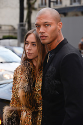 Chloe Green, Jeremy Meeks attending the Ralph And Russo show during Paris Fashion Week Haute Couture Spring Summer 2018 on January 22, 2018. Photo by Julien Reynaud/APS-Medias/ABACAPRESS.COM