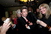 DUGGIE FIELDS, Liz Brewer GIVES A PARTY TO WELCOME 2010, Champagne <br /> Flemings Mayfair, 13 Half Moon Street, London. 5 January 2010