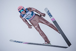 31.12.2018, Olympiaschanze, Garmisch Partenkirchen, GER, FIS Weltcup Skisprung, Vierschanzentournee, Garmisch Partenkirchen, Qualifikation, im Bild Dawid Kubacki (POL) // Dawid Kubacki of Poland during the qualifying for the Four Hills Tournament of FIS Ski Jumping World Cup at the Olympiaschanze in Garmisch Partenkirchen, Germany on 2018/12/31. EXPA Pictures © 2018, PhotoCredit: EXPA/ Stefanie Oberhauser
