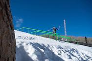 Bobby Brown during Ski Slopestyle Practice during 2015 X Games Aspen at Buttermilk Mountain in Aspen, CO. ©Brett Wilhelm/ESPN