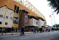 General views of the Molineux Stadium - Mandatory by-line: Nizaam Jones/JMP- 16/09/2018 - FOOTBALL - Molineux - Wolverhampton, England - Wolverhampton Wanderers v Burnley - Premier League