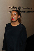 May 10, 2016- New York, NY: United States: Photographic Artist Ayana Jackson attends the Aperture Magazine Launch for the Vision & Justice Issue held at the Ford Foundation on May 10, 2016 in New York City.  Aperture, a not-for-profit foundation, connects the photo community and its audiences with the most inspiring work, the sharpest ideas, and with each other—in print, in person, and online. (Terrence Jennings/terrencejennngs.com)