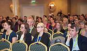 20/11/2014  repro free    <br /> Delegates  at the Galway Bay Hotel for the two day conference Meet West attracting over 400 business people from around Ireland for the largest networking event in the Country . Photo:Andrew Downes