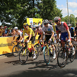 LIBOURNE (FRA) CYCLING: July 16<br /> 19th stage Tour de France Mourenx-Libourne<br /> The start of stage 19