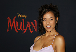 Dania Ramirez at the World premiere of Disney's 'Mulan' held at the Dolby Theatre in Hollywood, USA on March 9, 2020.