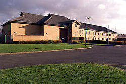 Littlehey Prison, Cambridgeshire where Steven Downing is being held, November 4, 2000. Photo by Andrew Parsons / i-Images..