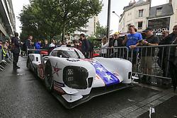 June 11, 2018 - Le Mans, FRANCE - 10 DRAGONSPEED (USA) BR ENGINEERING BR1 GIBSON LMP1 HENRIK HEDMAN (SWE) BEN HANLEY (GBR) RENGER VAN DER ZANDE  (Credit Image: © Panoramic via ZUMA Press)