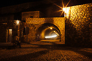 Tunnel to enter to Real de Catorce.