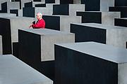 Berlin, Germany, June 26, 2008, Holocaust Denkmal. PHOTO©Christophe VANDER EECKEN