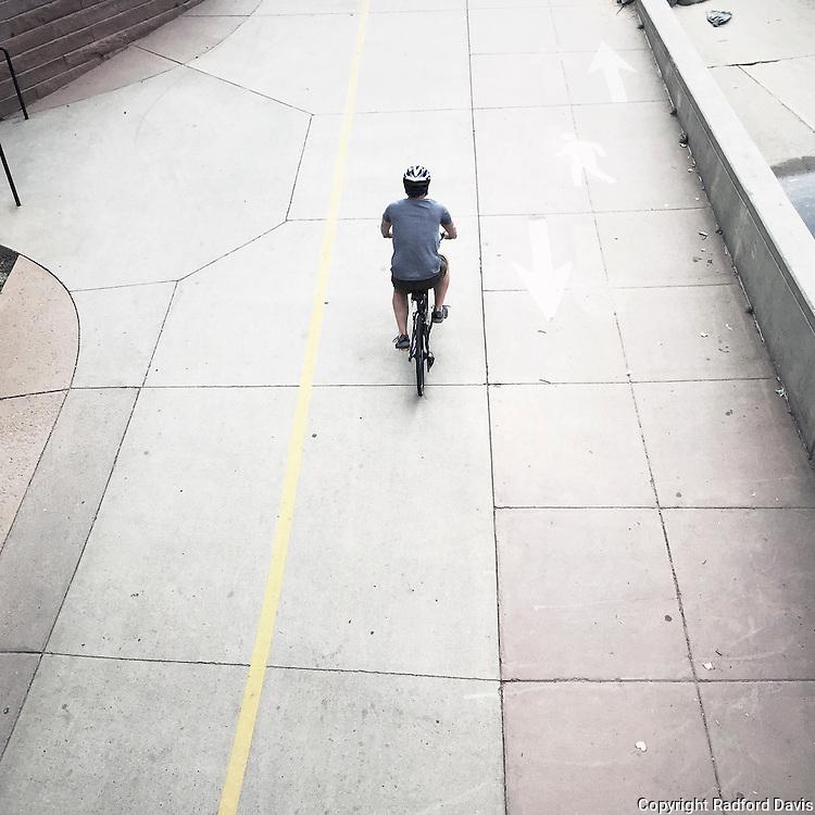 Boulder, Colorado, bicyclist