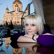 Russian superstar singer Valeriya in Moscow.