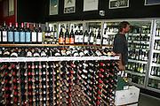 Australian wines are famous. Wine shop in Sydney.